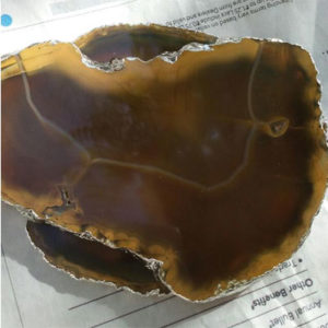 Natural Agate Slice