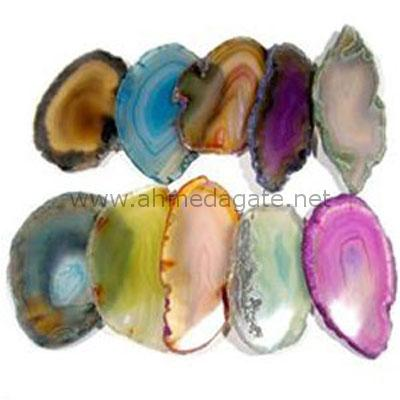 Multi-Color-Agate-Slice