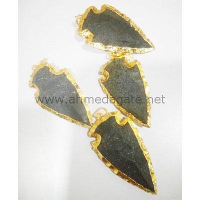 Gold Plated Arrowheads