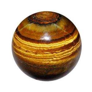 Tiger-eye Sphere