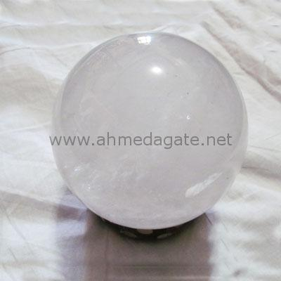 Clear Crystal Sphere