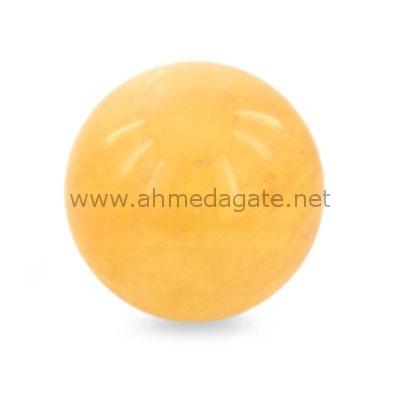 Citrine Sphere