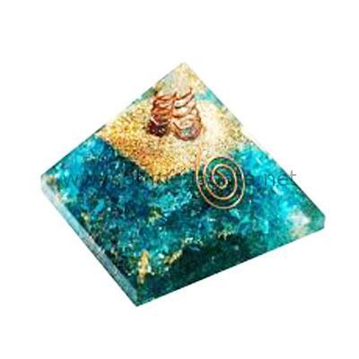 Aqua Orgone Pyramid