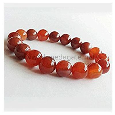 Red Beads-Agate-Bracelet-