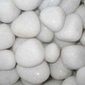 White Agate Pebbles