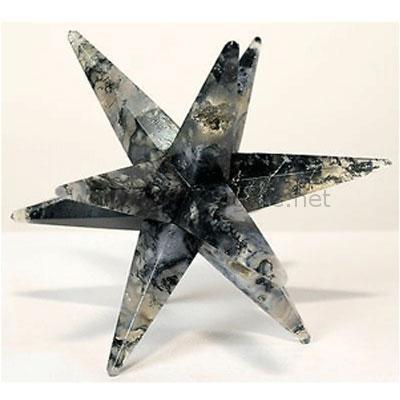 12 Point Moss Merkaba-Star