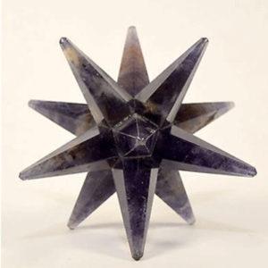 12 Point Amethyst Merkaba-Star