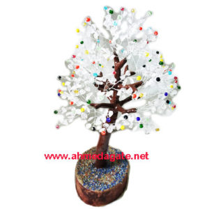 Mix Gems & Crystal Chips Tree