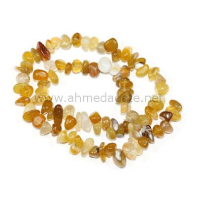 Yellow Agate Chips
