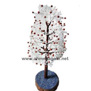 Clear-Crystal-Quartz-Rudraksha-Gemstone-Tree-1