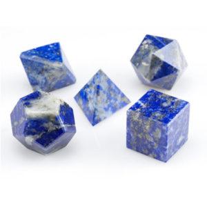 Lapiz-LazuliGeomatric Set-3