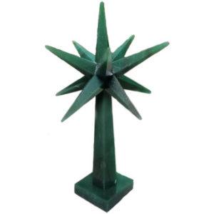 Green Aventurine Merkaba Star Tree