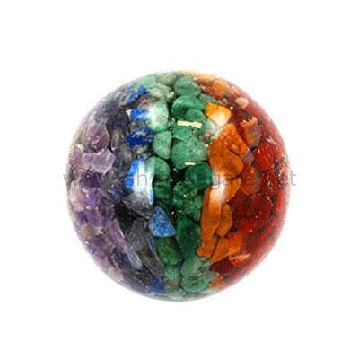 7 Chakra Orgone-Ball