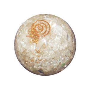 Selenite Orgone Ball
