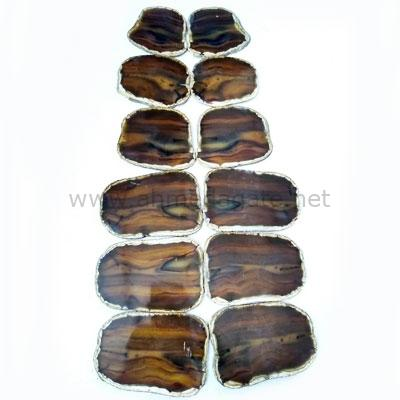 Natural Pair Agate Slices
