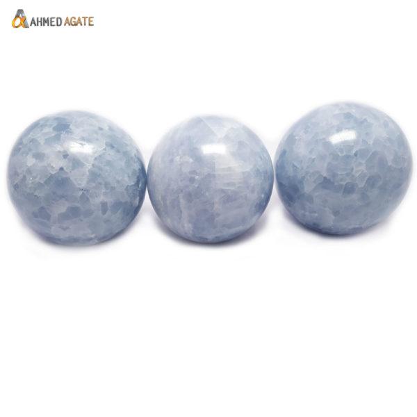 Natural Angelite Ball/Sphere