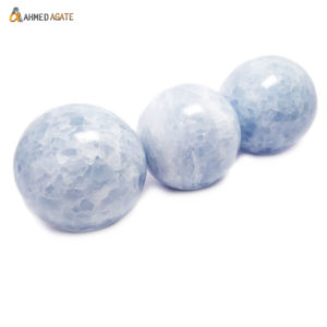 Natural Angelite Ball/Sphere for